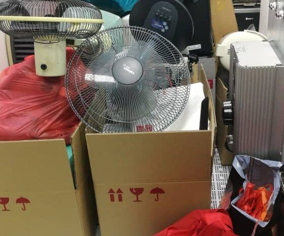 QES E-Waste Collection Drive