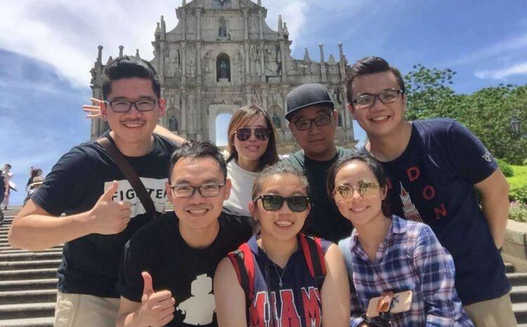 Finance Department Company Trip to Macau, Hong Kong
