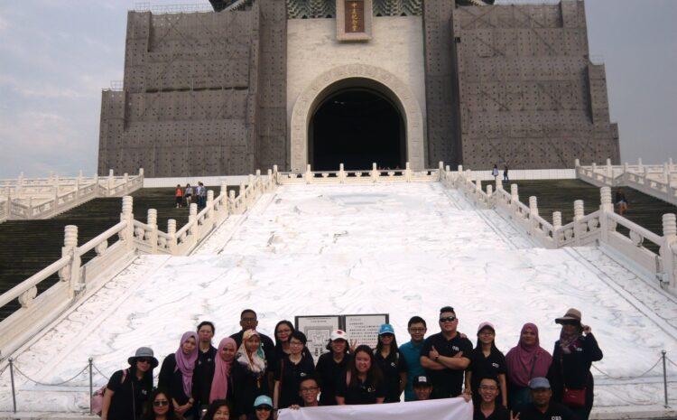 HR, SCM & XRI Department Company Trip to Taiwan