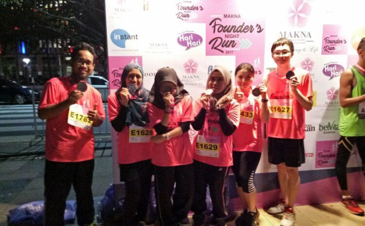 Makna Founders Night Run 2017