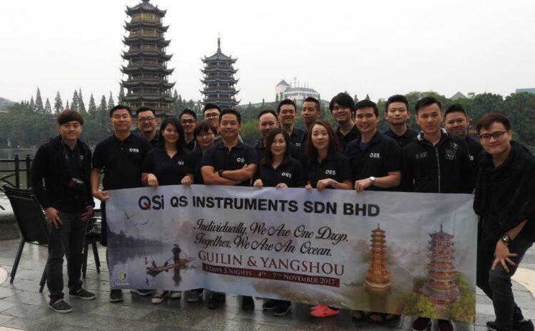 QSI Company Trip to Guilin, China